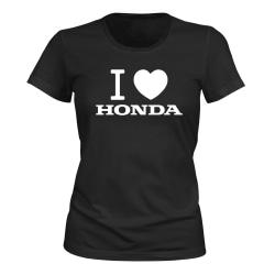 Honda - T-SHIRT - DAM svart M