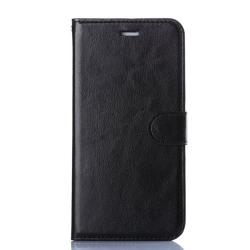 iPhone 5 / 5S fodral / plånbok (SVART) svart