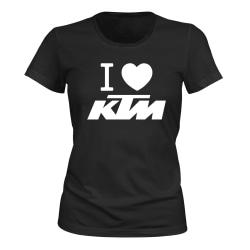 KTM - T-SHIRT - DAM svart S
