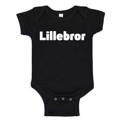 Lillebror - Baby Body svart Svart - Nyfödd