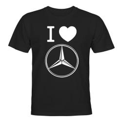 Mercedes-Benz - T-SHIRT - HERR Svart - M