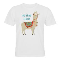 No Prob Llama - T-SHIRT - HERR Vit - 5XL