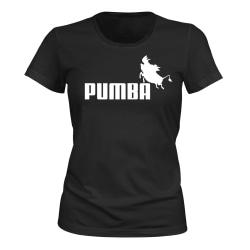 Pumba - T-SHIRT - DAM svart L