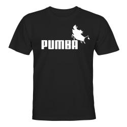 Pumba - T-SHIRT - HERR Svart - XL