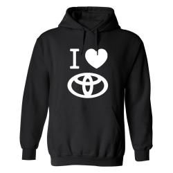 Toyota - Hoodie / Tröja - UNISEX Svart - M