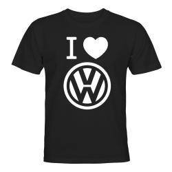 Volkswagen - T-SHIRT - HERR Svart - XL