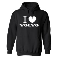 Volvo - Hoodie / Tröja - HERR Svart - S
