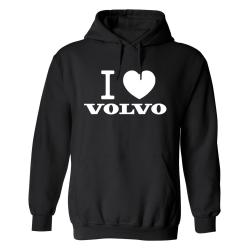 Volvo - Hoodie / Tröja - DAM Svart - S