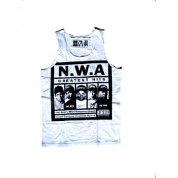 N.W.A - Linne Unisex Vit