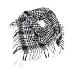 Palestinasjal - Svart och vit - scarf - Palestina  Vit