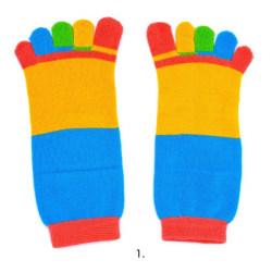 Tåstrumpor - Ta hand om dina fötter  Blå