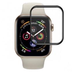 2-PACK Apple Watch Series 6 40mm FullFrame® 3D Härdat glas 0.26m Transparent