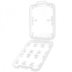 2-PACK Fodral till Minneskort SD/MS/SDHC/SDXC Svart