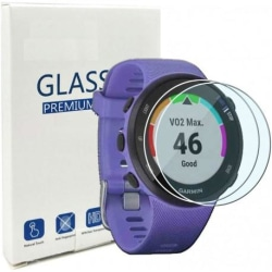 2-PACK Garmin Forerunner 45 & 45s Härdat Glas 0.2mm 9H 2.5D Transparent