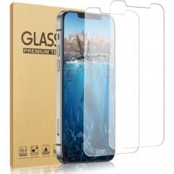 2-PACK iPhone 12 Härdat glas 0.26mm 2.5D 9H Transparent