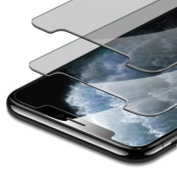 2-PACK iPhone 12 Pro Privacy Härdat glas 0.26mm 2.5D 9H Transparent