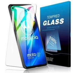 2-PACK Motorola Moto G8 Power Härdat glas 0.26mm 2.5D 9H Transparent