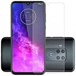 2-PACK Motorola One Zoom Härdat glas 0.26mm 2.5D 9H Transparent