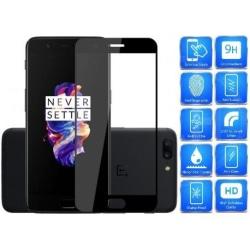 2-PACK OnePlus 5 FullFrame® 0.26mm 2.5D 9H Härdat Glas Transparent