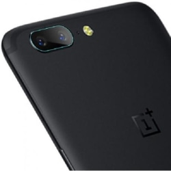 2-PACK OnePlus 5 Kamera Linsskydd Transparent