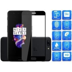 2-PACK OnePlus 5T FullFrame® 0.26mm 2.5D 9H Härdat Glas Svart