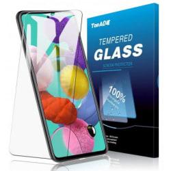 2-PACK Samsung A42 5G Härdat glas 0.26mm 2.5D 9H Transparent