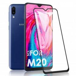 2-PACK Samsung M20 FullFrame® 0.26mm 9H Härdat Glas Transparent