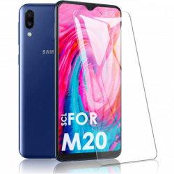 2-PACK Samsung M20 Härdat glas 0.26mm 2.5D 9H Transparent