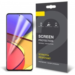 3-PACK Samsung A71 Skärmskydd Premium Transparent