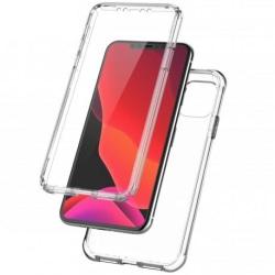 360° Heltäckande Silikonfodral iPhone 11 Pro Max Transparent
