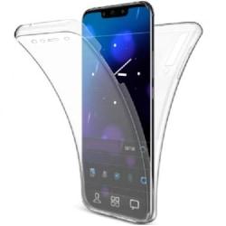 360° Heltäckande Silikonfodral Samsung A7 2018 SM-A750FN/DS Transparent
