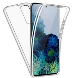 360° Heltäckande Silikonfodral Samsung S20 Plus Transparent