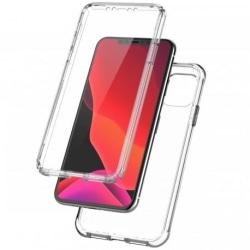 360 ° full täckning & stötdämpande skal iPhone 11 Pro Max Transparent