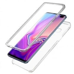 360° Heltäckande & Stötdämpande Skal Samsung S10 Plus Transparent