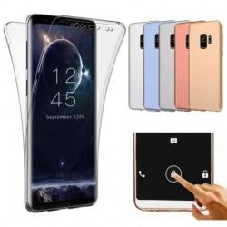 360° Heltäckande & Stötdämpande Skal Samsung S9 Transparent