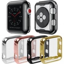 Apple Watch 44mm Heltäckande Skal Metallic Svart