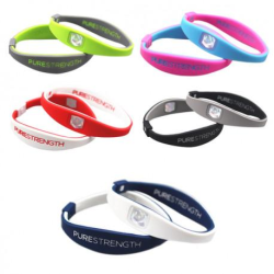 Balansarmband / Power Armband - Idrott, motion, välbefinnande Svart