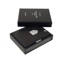 Exentri Smart Plånbok - RFID Säker Svart