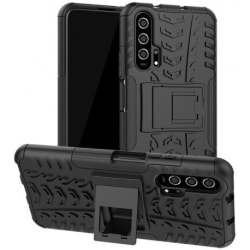 Huawei Nova 5T Stöttåligt Skal med Stöd Active® Black