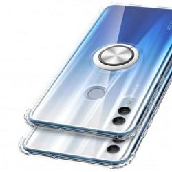 Huawei P Smart 2019 Stöttåligt Skal med Ringhållare Fresh® Transparent