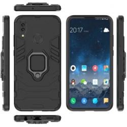 Huawei P Smart 2019 Stöttåligt Skal med Ringhållare ThinArmor® Black