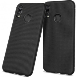 Huawei P20 Lite Stöttåligt Skal FullCarbon® V3 Svart