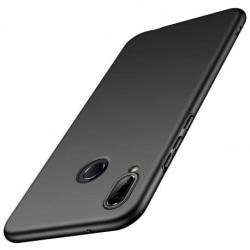 Huawei P20 Lite Ultratunn Gummibelagd Mattsvart Skal Basic® V2 Svart