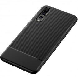 Huawei P20 Pro Stöttåligt Skal FullCarbon® Svart