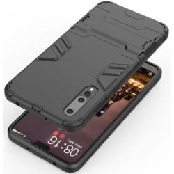 Huawei P20 Pro Stöttåligt Skal med Kickstand ThinArmor® Svart