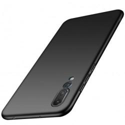 Huawei P20 Pro Ultratunn Gummibelagd Mattsvart Skal Basic® V2 Black