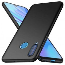 Huawei P30 Lite Ultratunn Gummibelagd Mattsvart Skal Basic® V2 Black