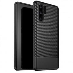 Huawei P30 Pro Stöttåligt Skal FullCarbon® Black