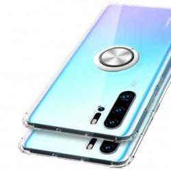 Huawei P30 Pro Stöttåligt Skal med Ringhållare Fresh® Transparent