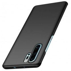 Huawei P30 Pro Ultratunn Gummibelagd Mattsvart Skal Svart